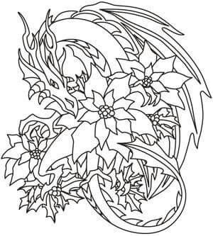dragon dragon coloring page coloring pages adult