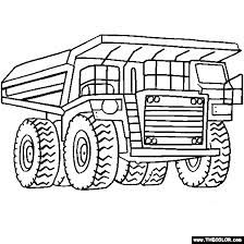 dump truck google search monster truck coloring pages