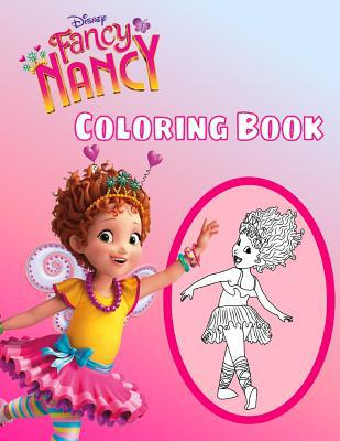 fancy nancy coloring book disney premium coloring book