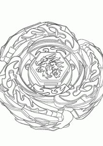 free printable beyblade coloring pages for kids japanese