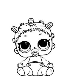 free printable lol doll coloring page lol dolls