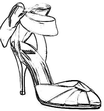 high heel shoes coloring pages bing images high heel