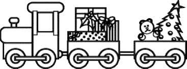 image result for polar express train coloring page train