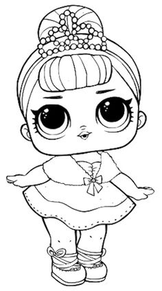 lol doll luxe coloring page free printable coloring