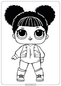 lol surprise lil cosmic queen doll coloring pages