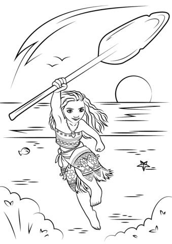 moana coloring page from moana category select from 25266