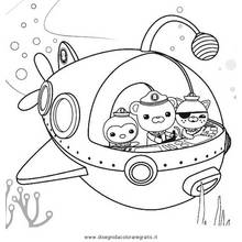 octonauts dessins anims coloriages imprimer