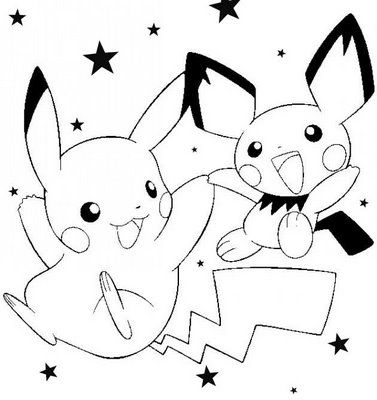 pokemon coloring book pages