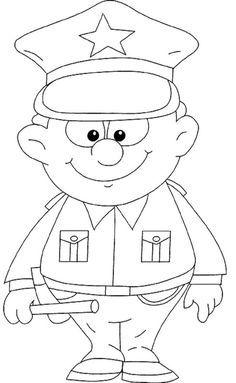 policeman coloring pages festa della polizia immagini