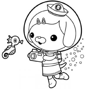 Octonauts Coloring Pages Pictures Whitesbelfast