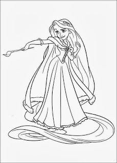 rapunzel tangled coloring pages coloring pages for kids