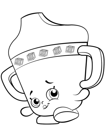 sippy sips ba shopkin coloring page free printable