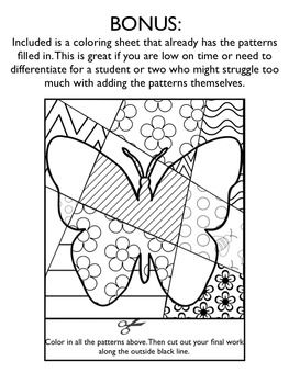 spring pop art interactive coloring pages writing fun