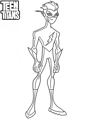 the flash superhero coloring pages printable images