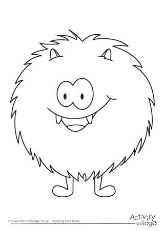 tickle monster coloring pages coloring pages