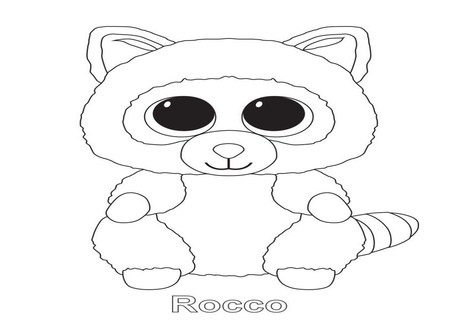 ty beanie boos coloring pages at getcolorings free