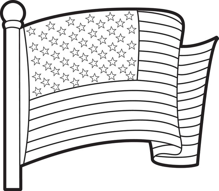 american flag coloring pages getcoloringpages