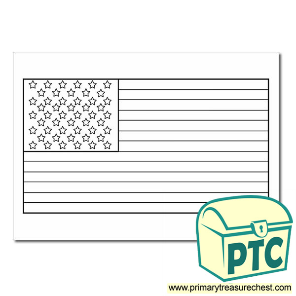 american flag coloring sheet classroom printables for