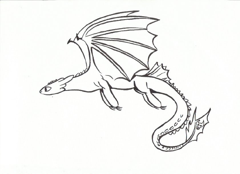 ba toothless drawing at getdrawings free download