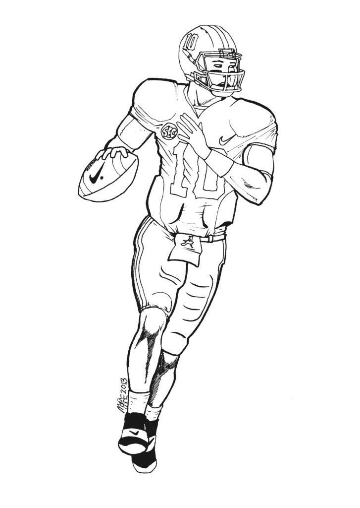 cam newton football player coloring pages coloring pics