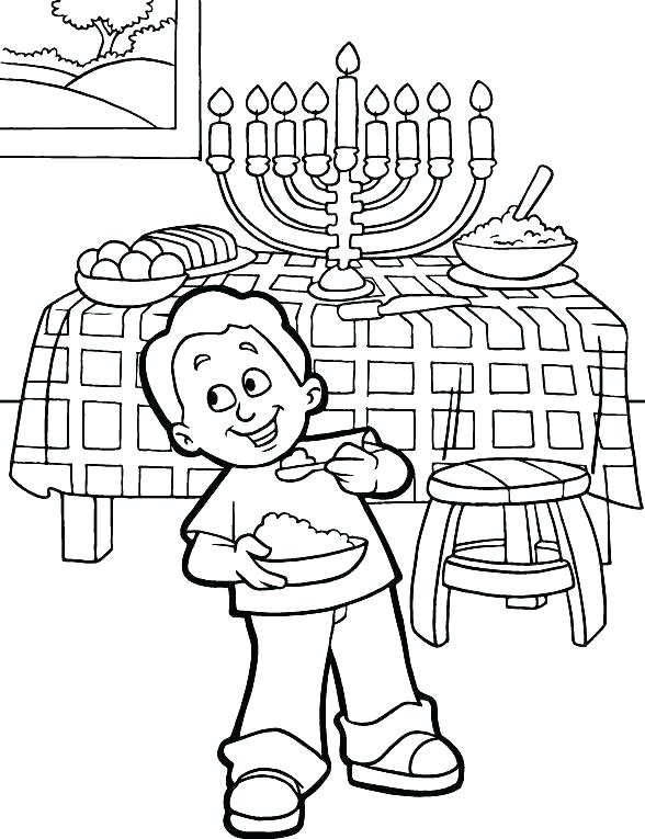 chanukah coloring pages to print at getcolorings