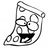 cheese pizza coloring page clipart panda free clipart