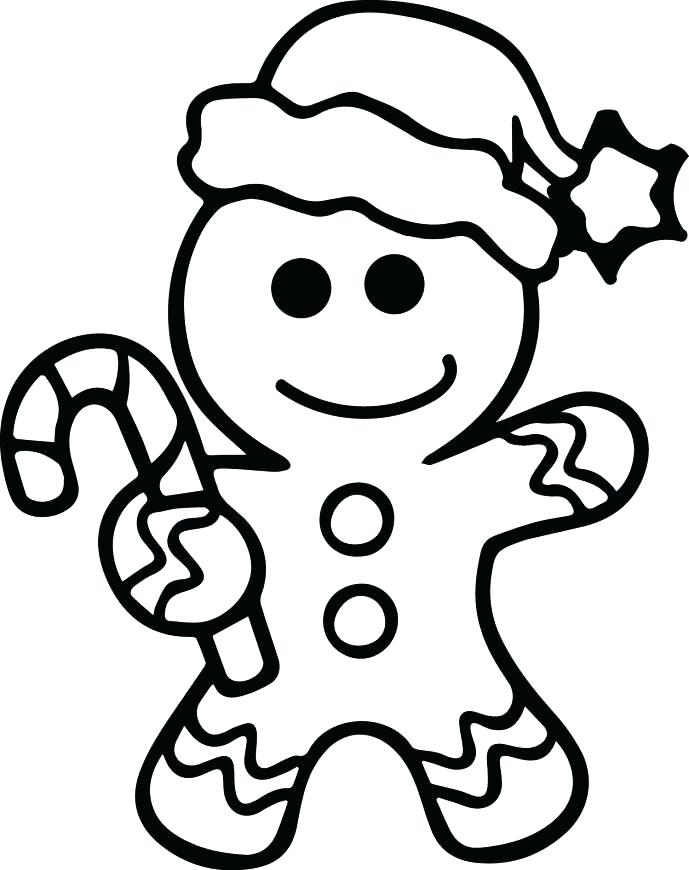 christmas gingerbread man coloring pages at getcolorings