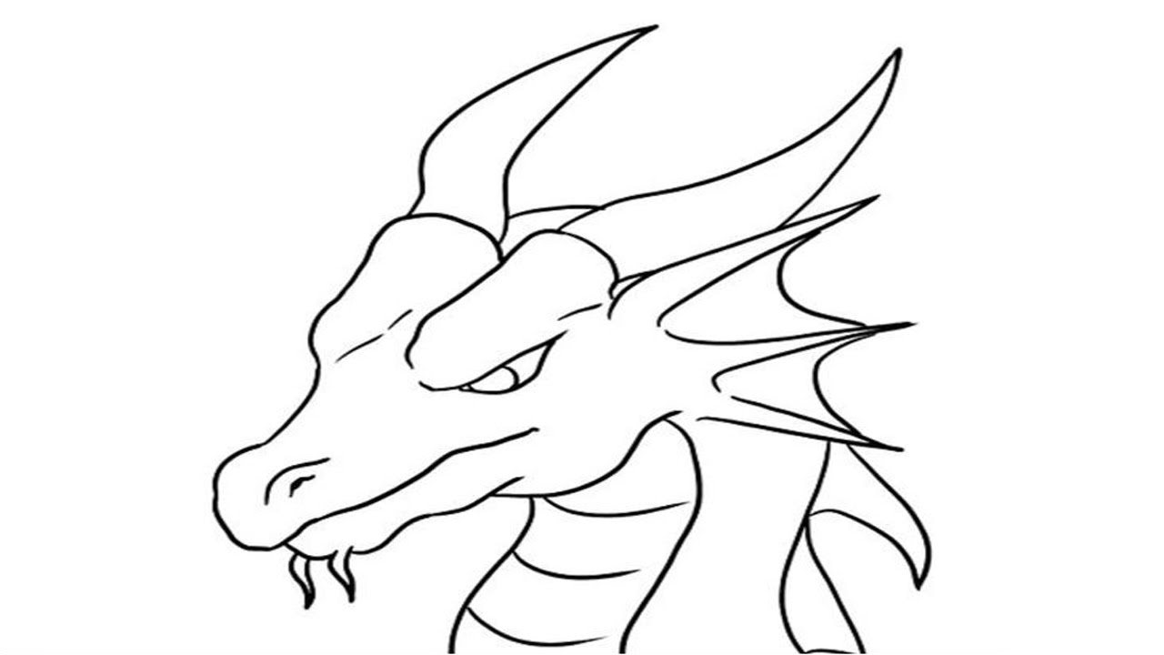 coloring pages how to draw a dragonstep step easy