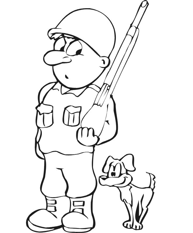 dog coloring page soldier dog find awesome coloring