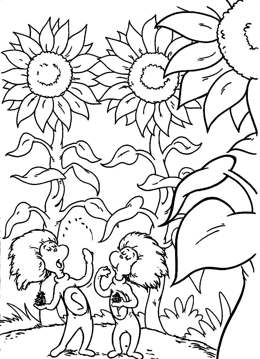 dr seuss coloring pages getcoloringpages