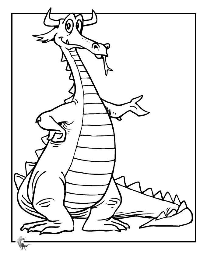 dragon coloring pages free printables for kids disney