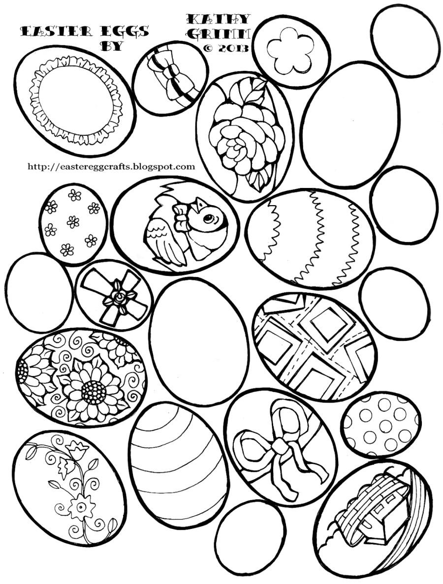 easter egg coloring pages vintage eggs easter egg crafts