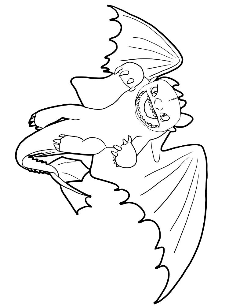 free toothless coloring pages download and print