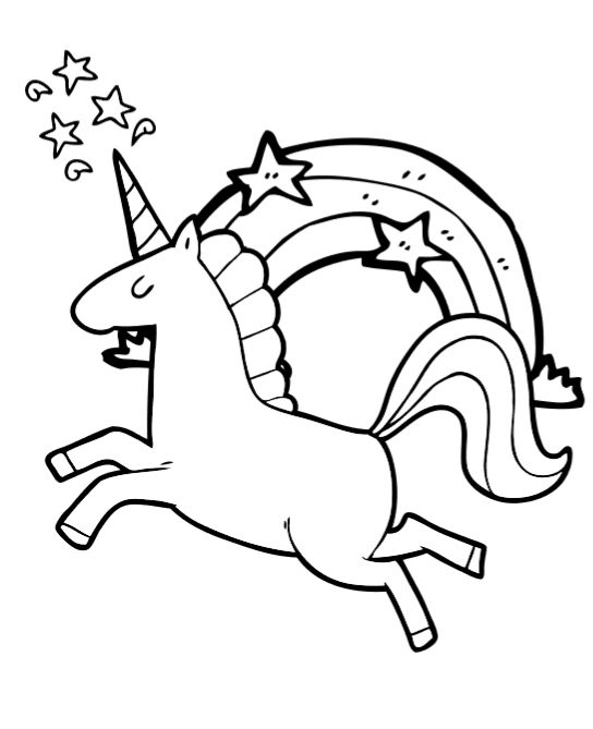 free unicorn coloring book pages so cute unicorn