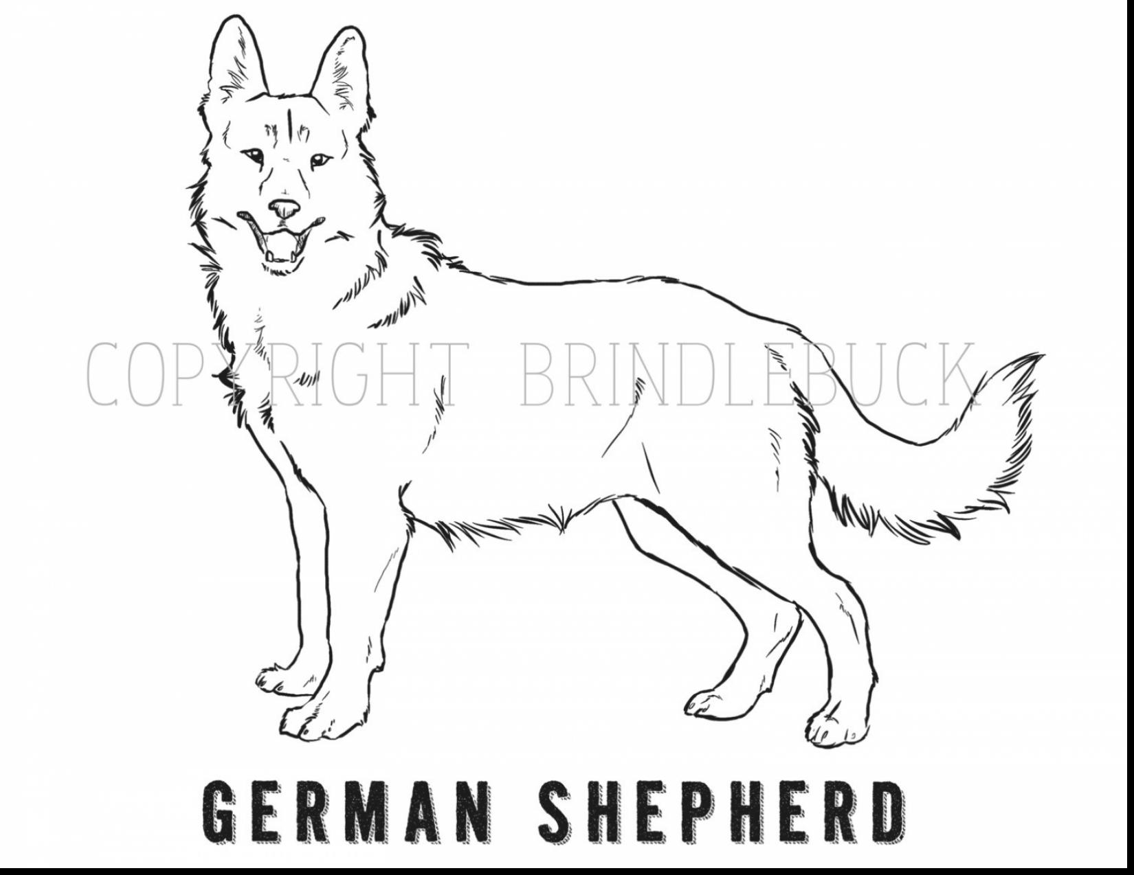 german shepherd puppy coloring pages printable coloring
