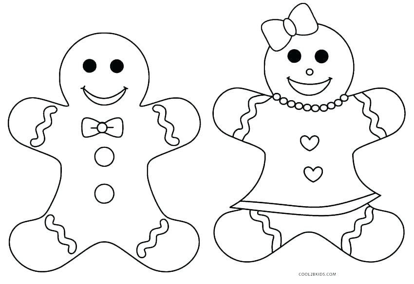 gingerbread man story coloring pages at getcolorings