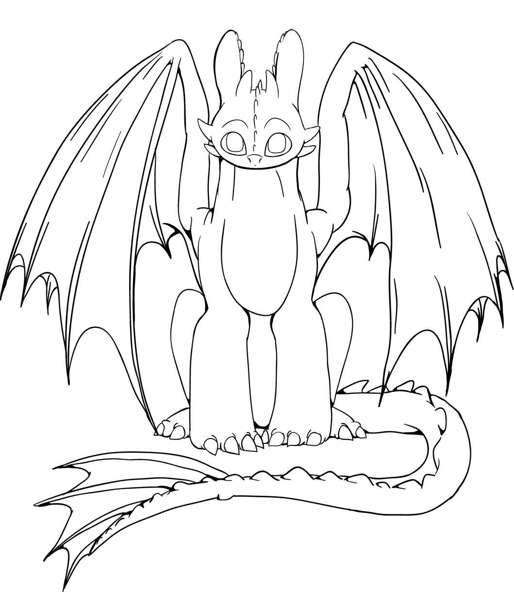 Toothless Coloring Pages Gallery Whitesbelfast
