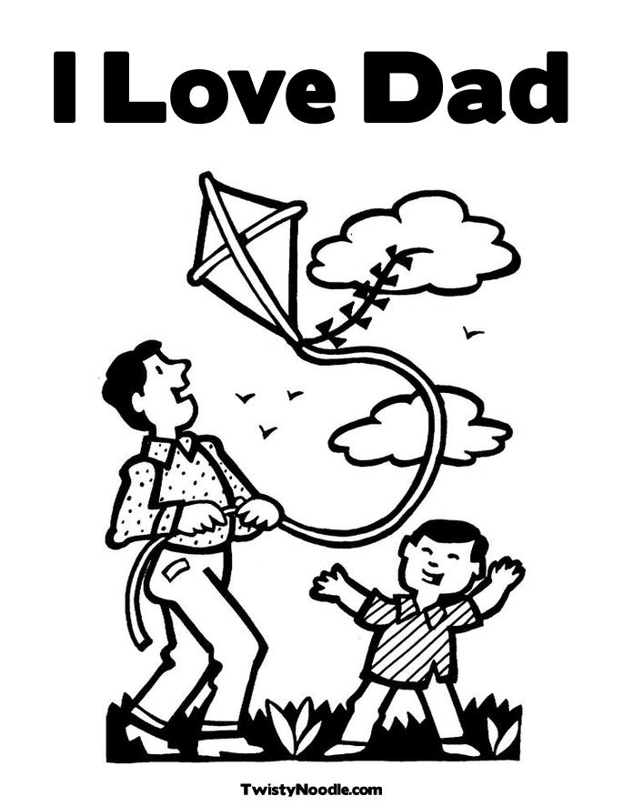 i love you dad coloring pages getcoloringpages