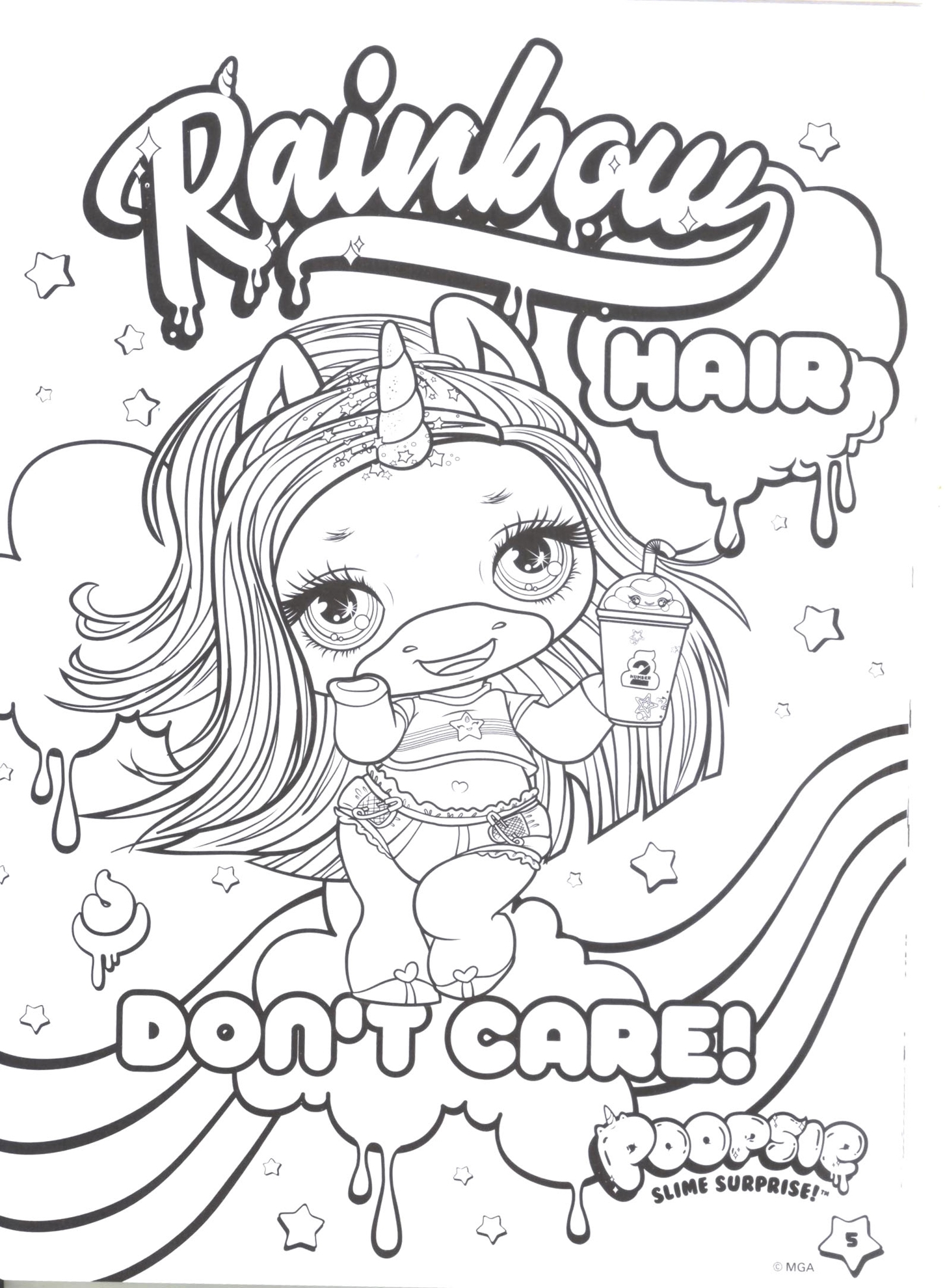 Slime Coloring Pages Gallery - Whitesbelfast