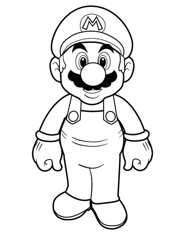 mario brothers coloring pages at getdrawings free download