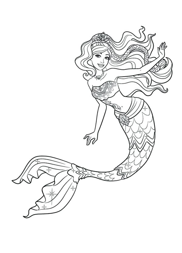 mermaid tail drawing at getdrawings free download