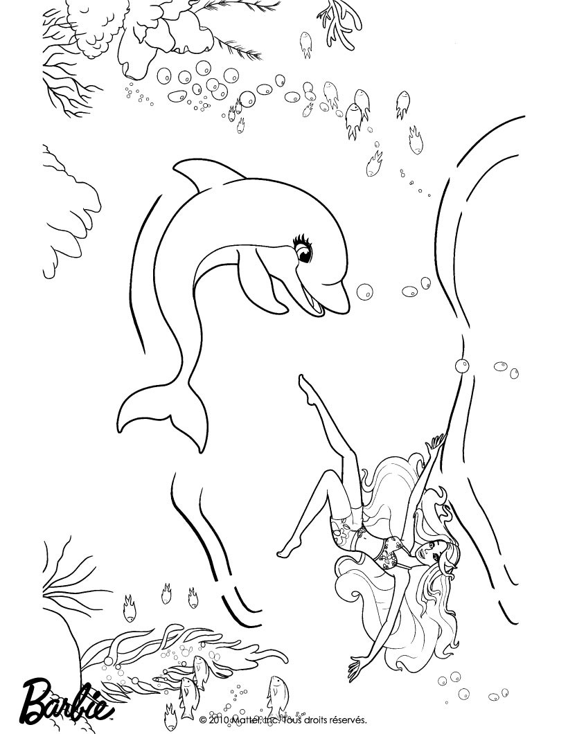 metroemofr barbie mermaid coloring pages