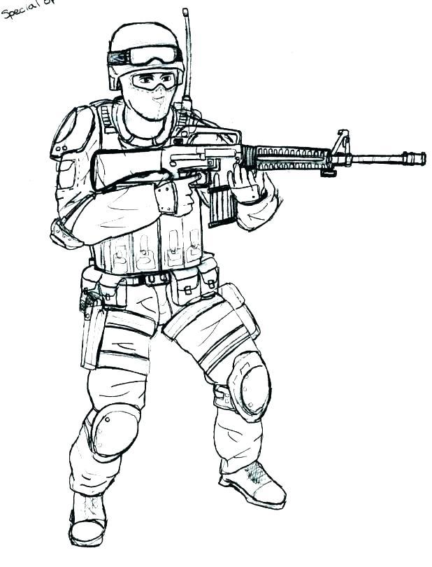 military gun coloring pages at getcolorings free