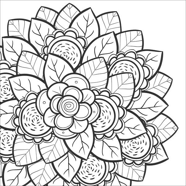 mindfulness coloring pages mandala coloring pages cute