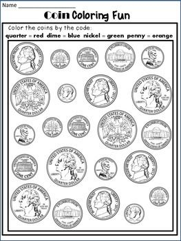 money worksheets coin identification worksheets and