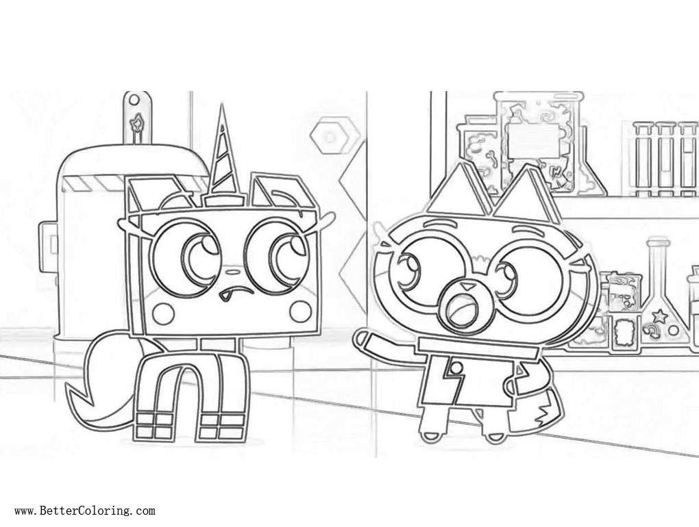 movie coloring pages unikitty coloring pages