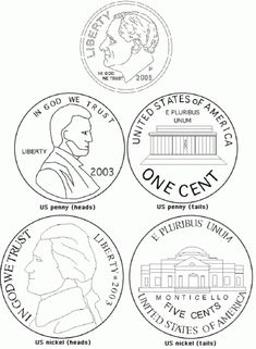 nickel coloring page coins coloring page 1201 x 1200