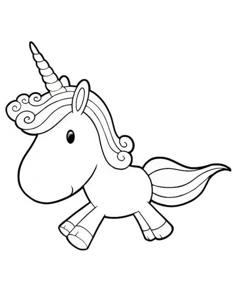 printable ba unicorn coloring pages kids colouring pages