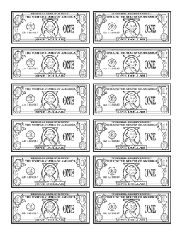 printable dollars the whirled ps teachers pay teachers