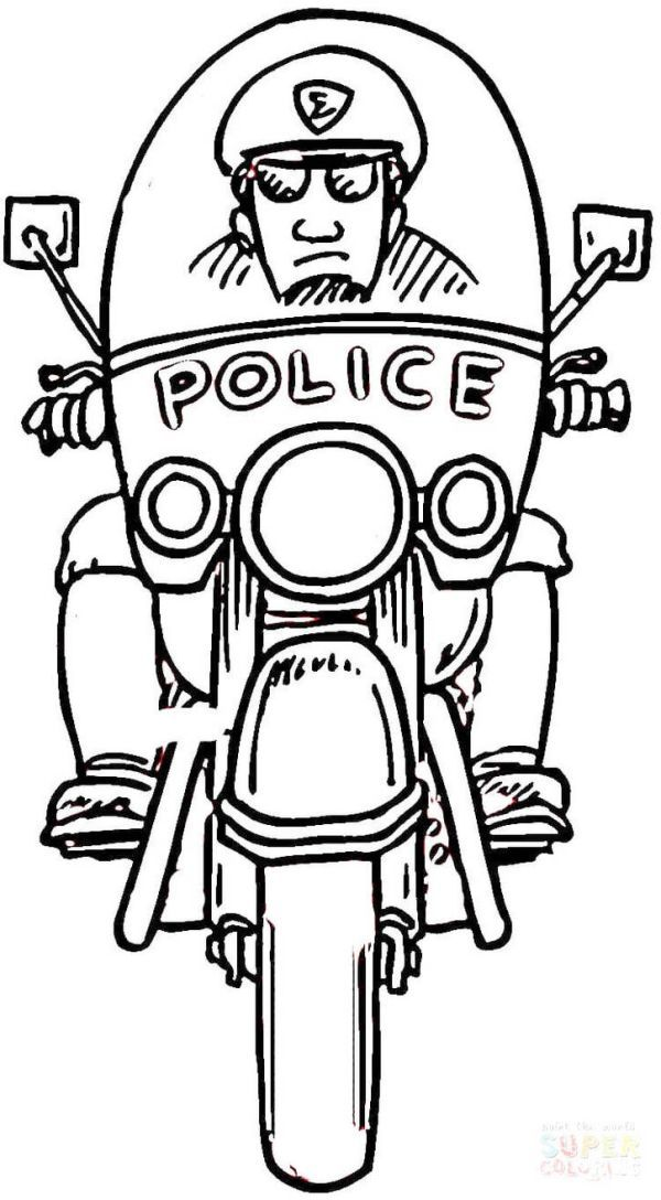 printable policeman coloring pages coloring pages